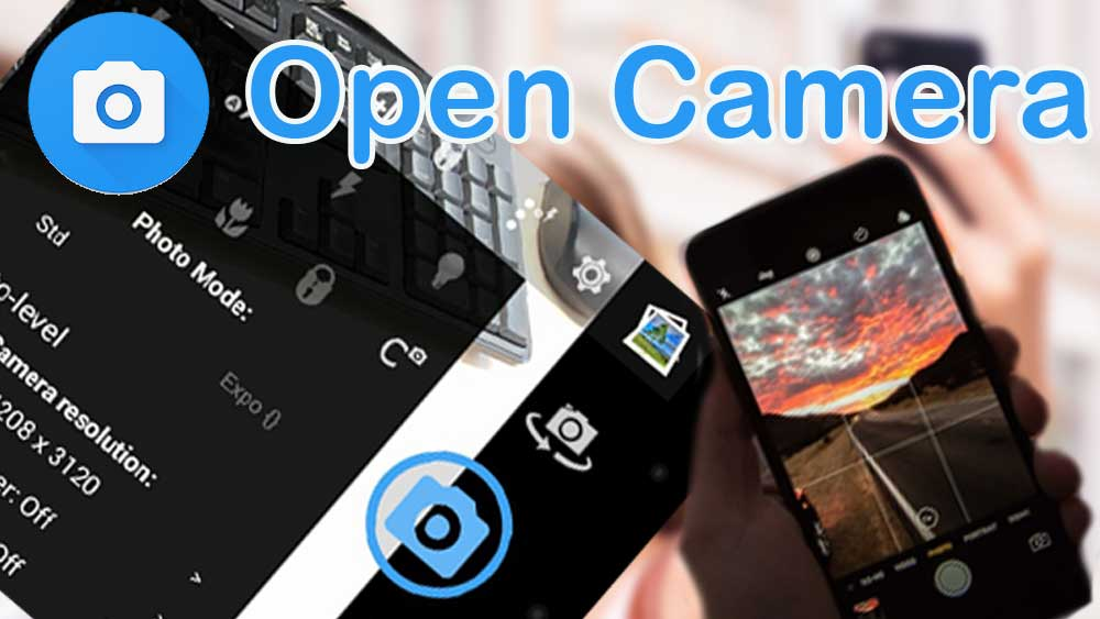 Open Camera, google camera